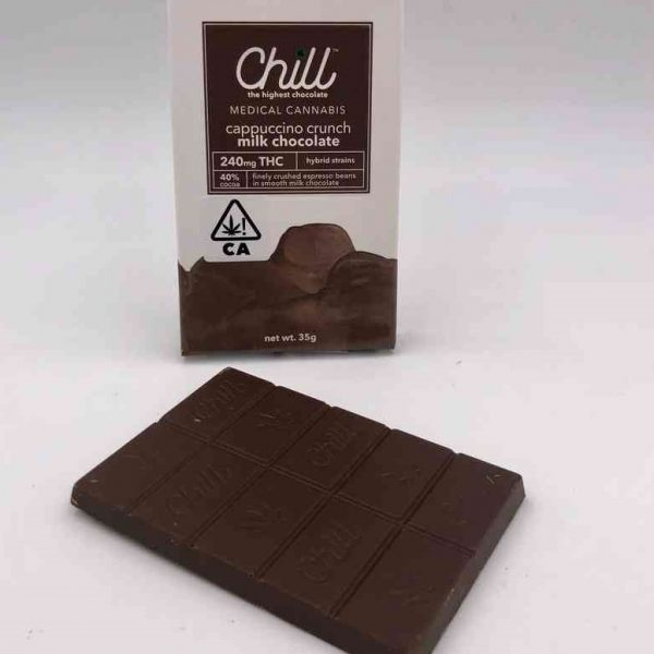 Chill Cappuccino Crunch Milk Chocolate